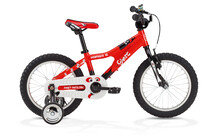 Ghost Powerkid 16 Kinderfiets Kinderen Boy rood